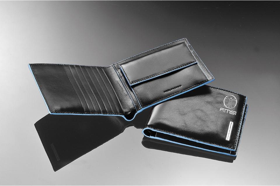 nuovo concetto d9756 57ca9 Portafoglio pocket nero